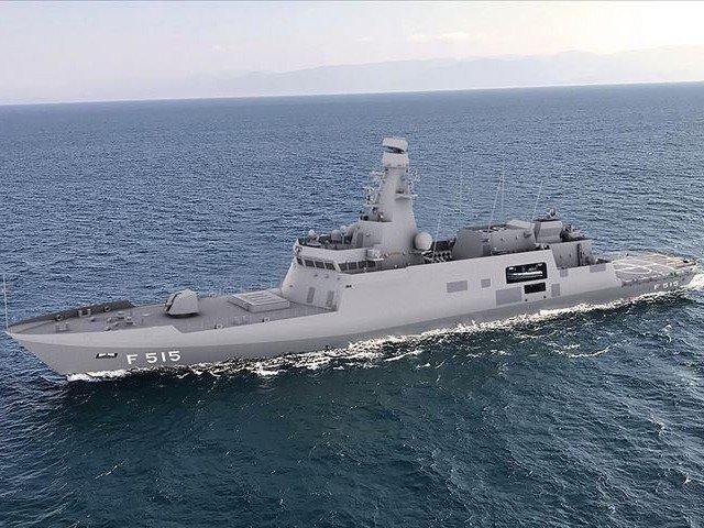 keel laying of pakistan s 1st corvette held in turkey