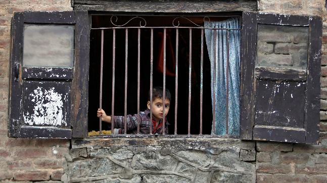 kashmiri children victims of india s worst barbarity