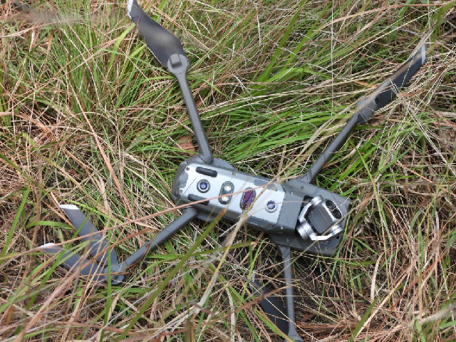 pakistan army intercepts destroys 8th indian spy drone this year
