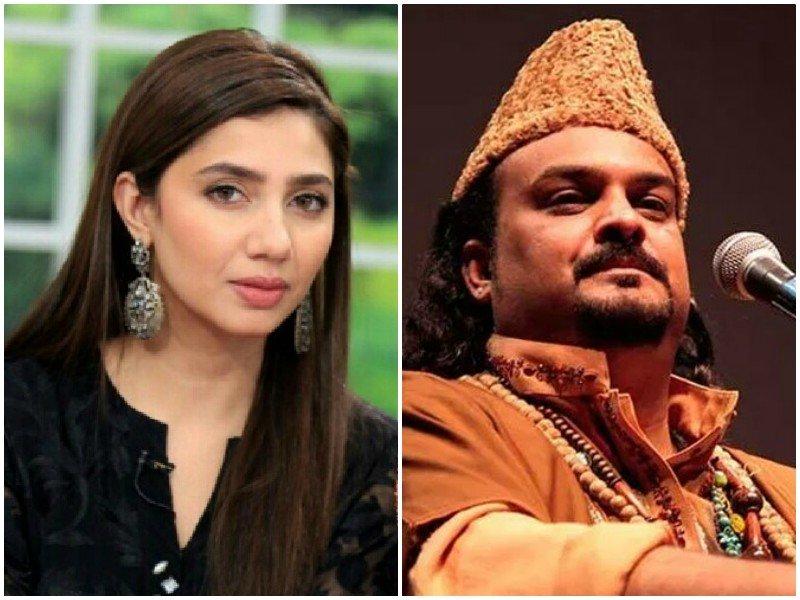 watch mahira khan shares amjad sabri s childhood video