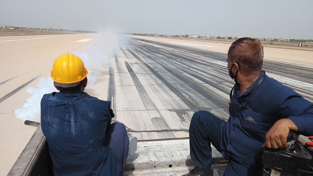 fearing aircraft damage caa launches anti locust spray campaign at jinnah terminal
