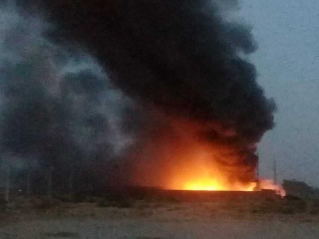 four dead four injured in faisalabad oil depot blaze