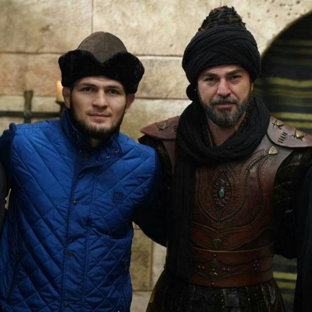 when ufc champion khabib nurmagomedov visited the sets of dirili ertu rul