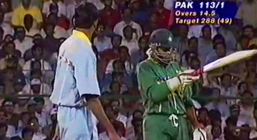 my blood was boiling prasad recalls dismissing sohail in 1996 world cup