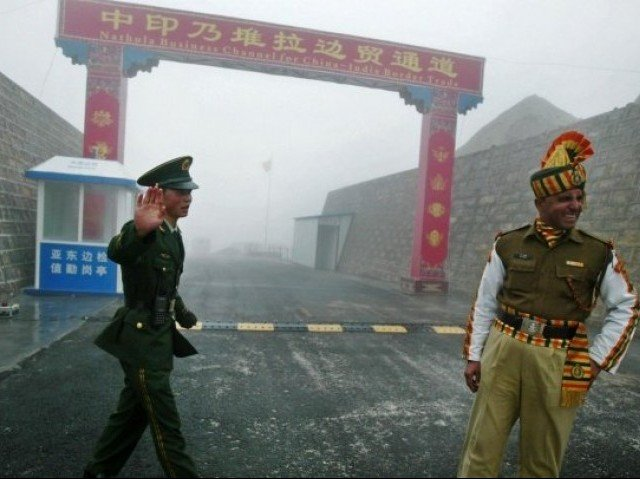 China has always opposed India's inclusion of Chinese territory in its administrative jurisdiction in the western part of the Sino-Indian border. PHOTO: AFP/FILE