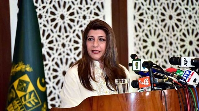 FO spokesperson Aisha Farooqui says statement is another manifestation of BJP government's delusions about AJK and incurable obsession with Pakistan. PHOTO: FILE
