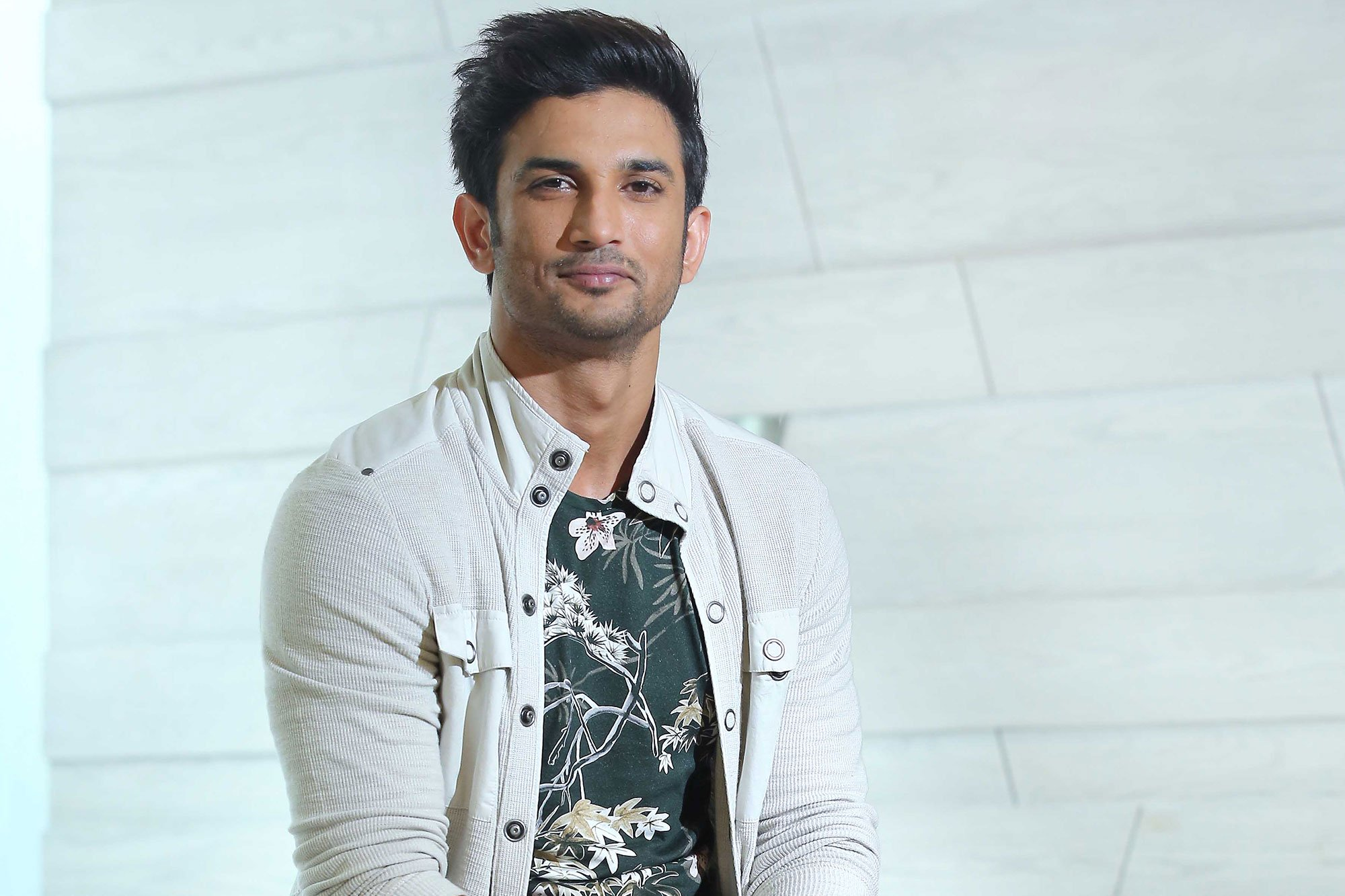 NEW DELHI, INDIA - SEPTEMBER 26: Bollywood actor Sushant Singh Rajput poses during an exclusive interview with HT City-Hindustan Times at Hotel Le Meridien, on September 26, 2016 in New Delhi, India. (Photo by Raajessh Kashyap/Hindustan Times)