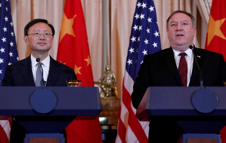 pompeo to meet china s top diplomat in hawaii us state department