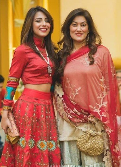 in pictures did you know ushna shah and irsa ghazal are sisters