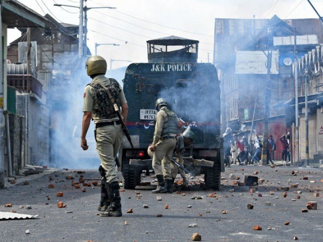 Protests in IIOJ&K as 7 freedom fighters martyred