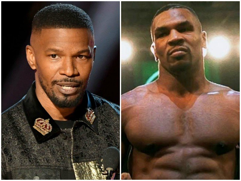 jamie foxx on transforming into mike tyson for upcoming biopic