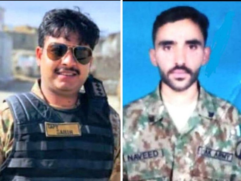 captain among two soldiers martyred in terrorist attack