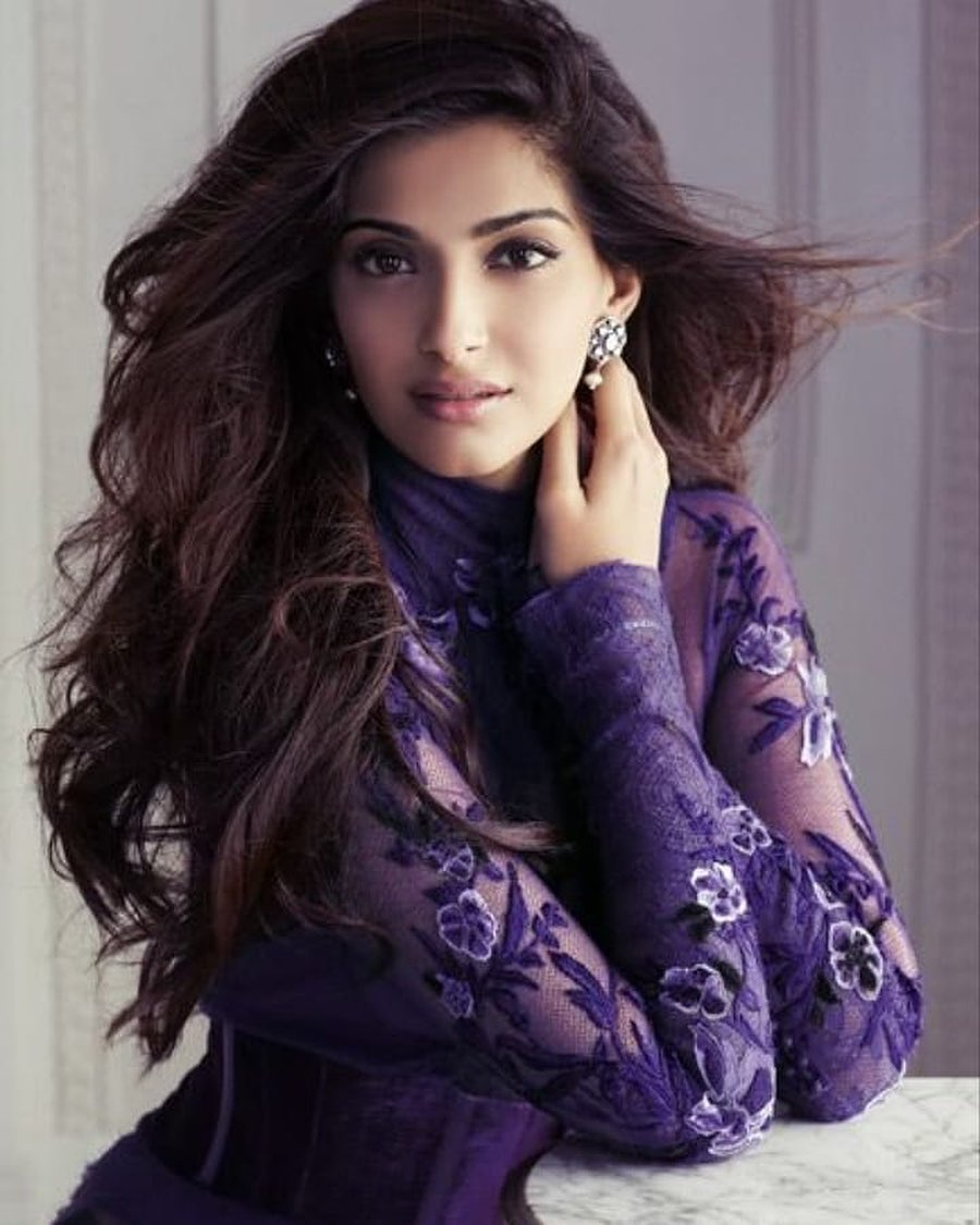 we are where we are because of our karma sonam kapoor