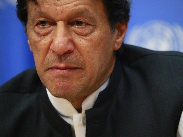 PM Imran Khan. PHOTO: REUTERS/FILE