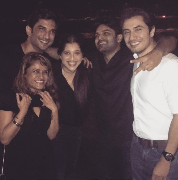 sushant was one of the nicest people i ve ever met ali zafar