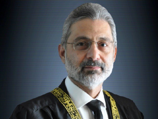 justice qazi faez isa photo file