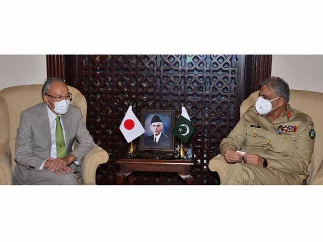 japan lauds pakistan s role for regional peace and stability