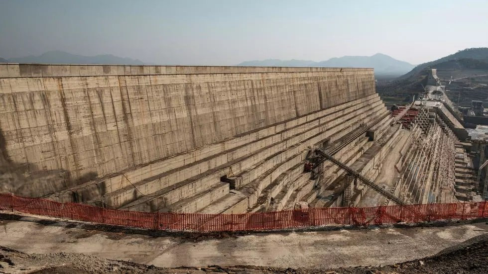 ethiopia 039 s renaissance dam in the nile river has been met with vehement resistance from downstream egypt and sudan photo afp