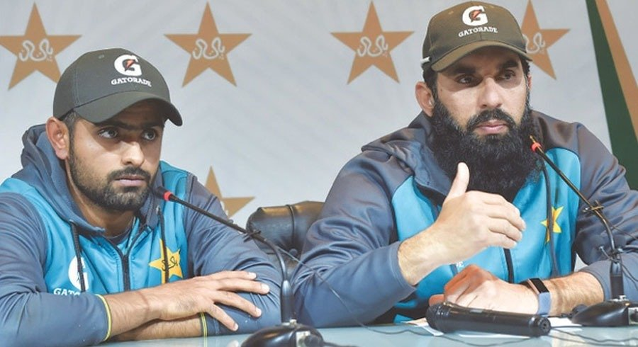 how can misbah mentor babar when he himself was a defensive captain sohail