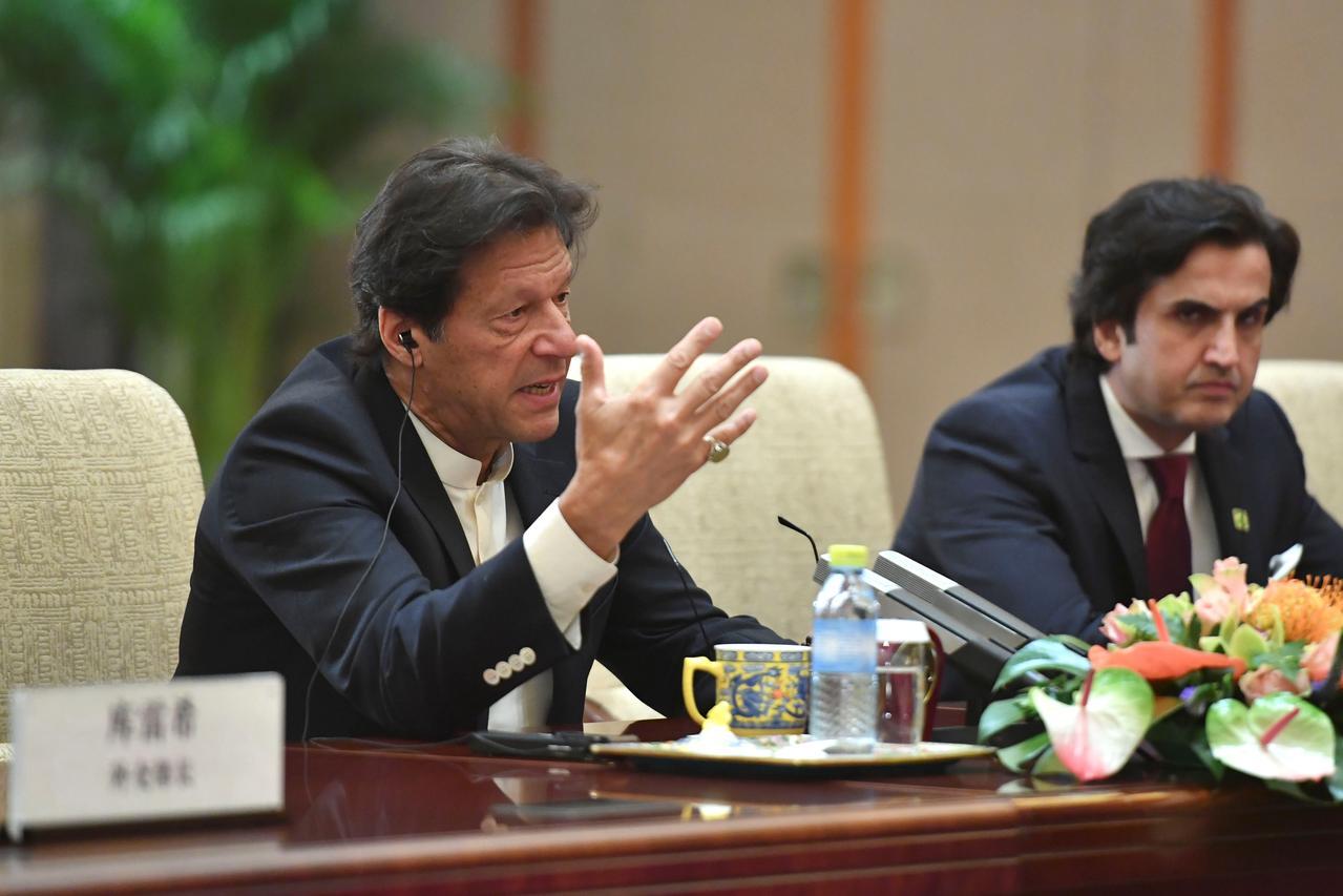 Imran Khan. PHOTO: REUTERS