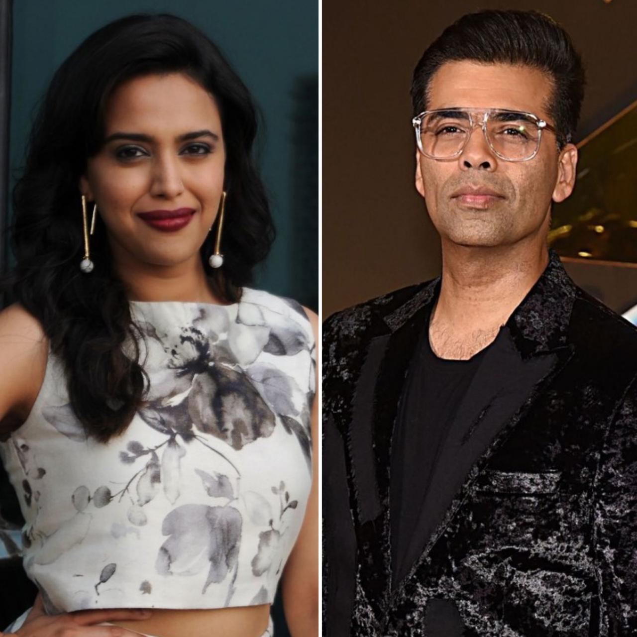 before kangana swara bhaskar asked karan johar about nepotism in bollywood