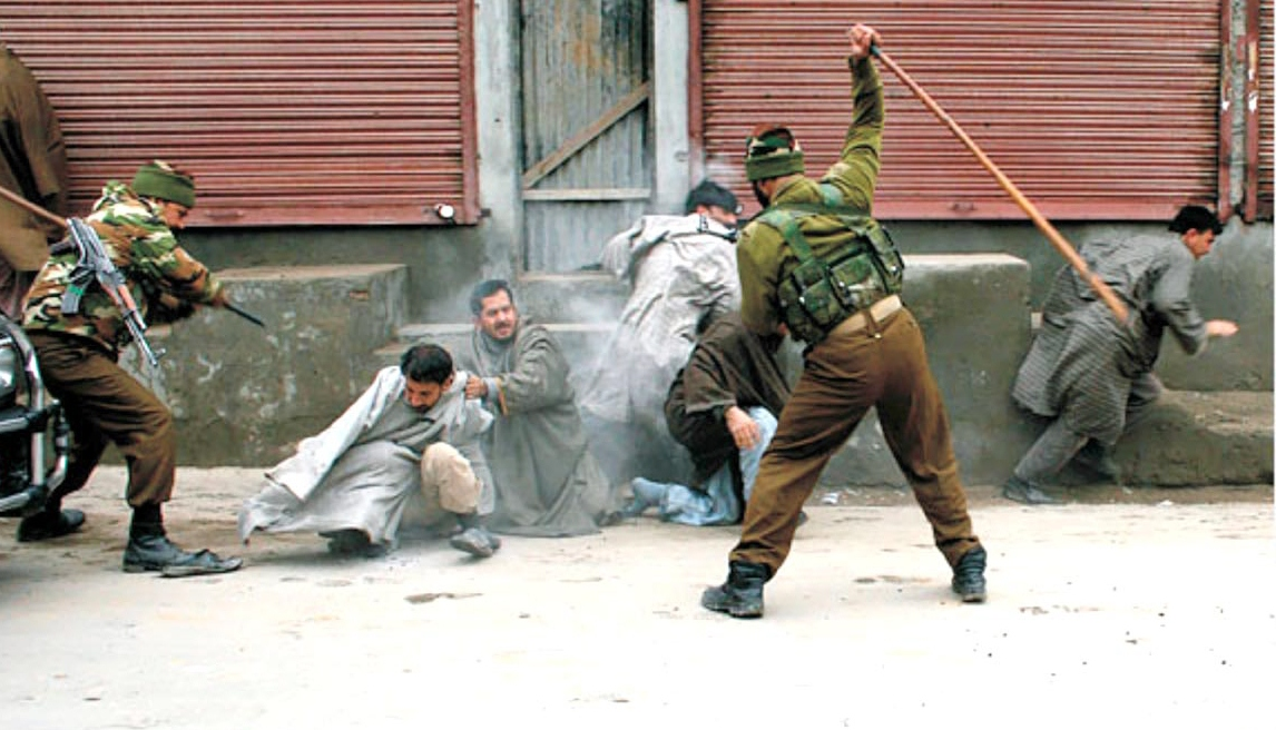 award winning novelist mirza waheed says inflict indignity on kashmiris now seems to be delhi s primary strategy photo file