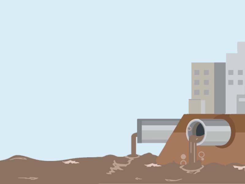 downpours damage karachi s only sewage plant