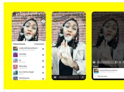 snapchat finally lets all iphone users put music in their snaps