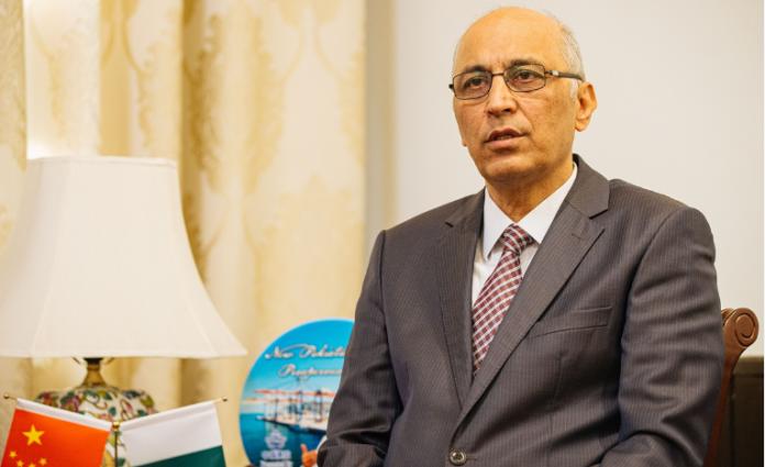 Pakistan's Ambassador to China Moin ul Haque. PHOTO: APP