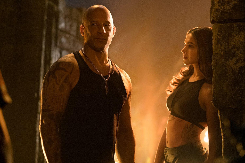 Vin Diesel and Deepika Padukone in xXx: Return of Xander Cage (2017) PHOTO: IMDb