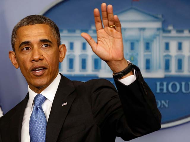 Obama presided over America during one of the tougher periods in its history. PHOTO: REUTERS.