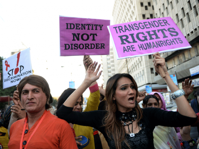 tansgender community protesting for equal rights photo file