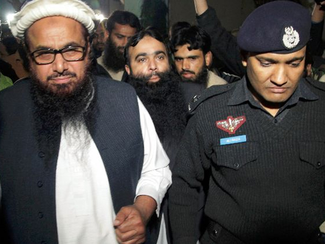 Hafiz Saeed's last house arrest was after the 26/11 attacks but the court set him free in the absence of any credible evidence. PHOTO: REUTERS