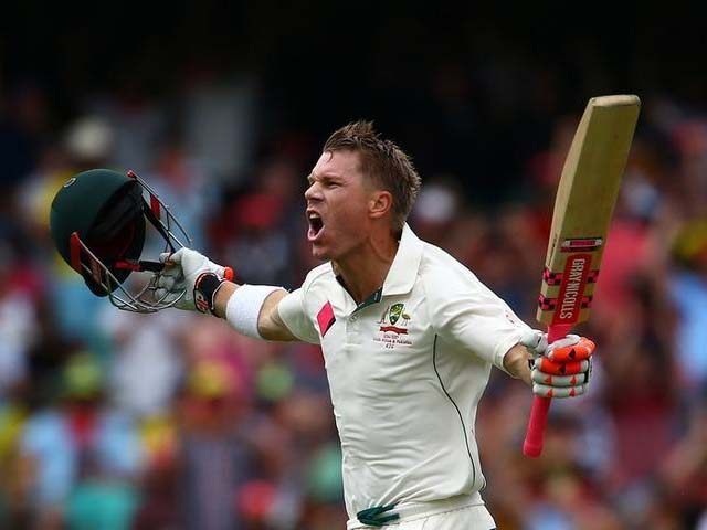 david warner turns on the heat