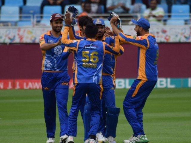 Karachi Kings celebrate a wicket. PHOTO: PSL