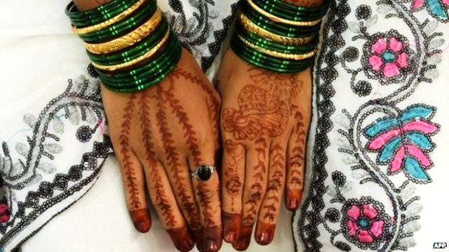 More than 8,000 women are killed every year in India in dowry-related offences. PHOTO: AFP