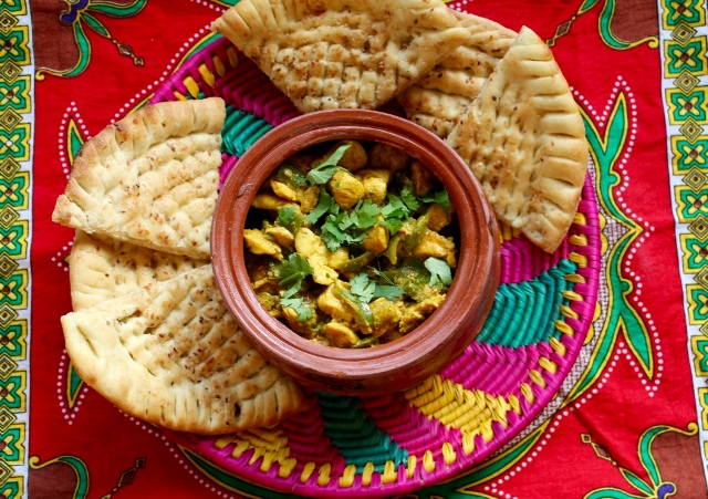 Although this isn't a traditional handi recipe – it is more a desi-retro version – I still like to serve desi chicken dishes in a handi to get the desi feels going. PHOTO: ARHAMA SIDDIQA