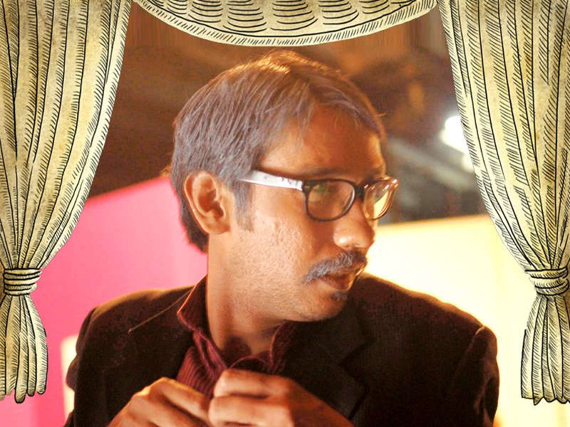 theatre actor talks about his struggle and his upcoming play design kiran shahid