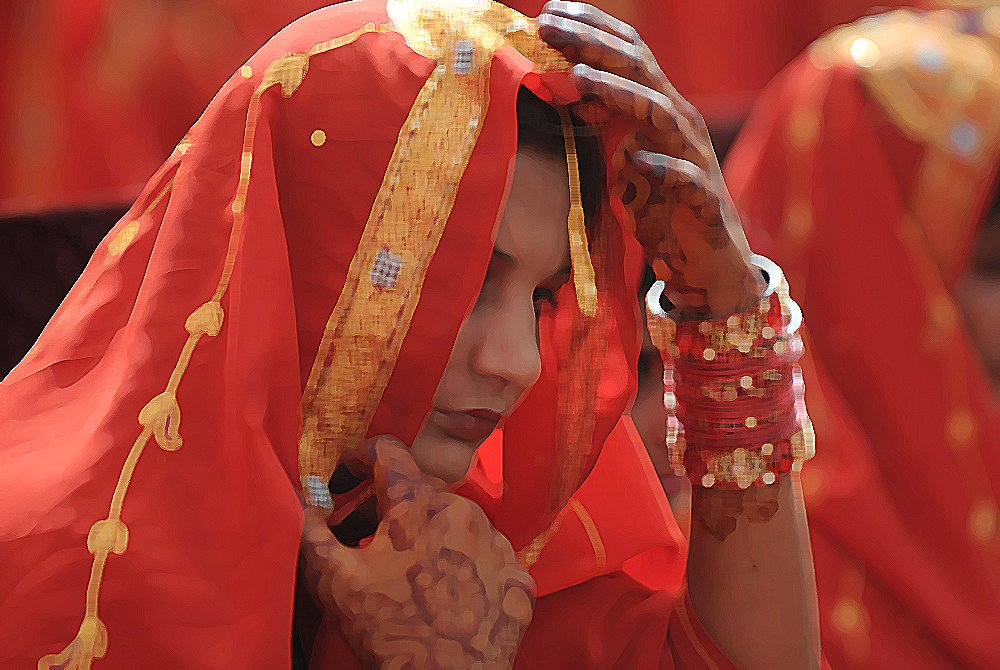 One obvious thing that girls married young miss out on is education. PHOTO: AFP/ FILE