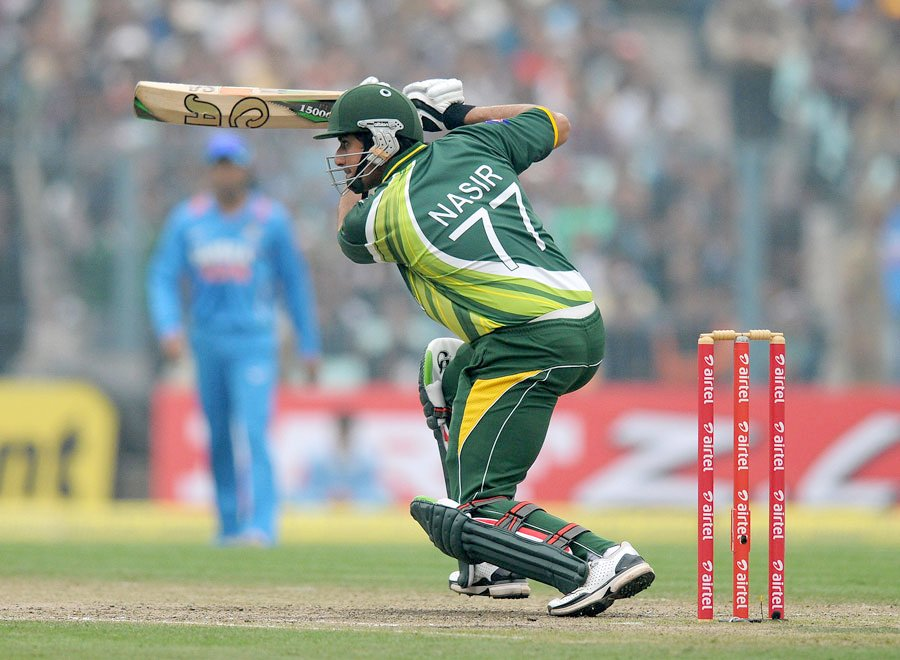 Nasir Jamshed scored his second ton of the series. PHOTO: BCCI
