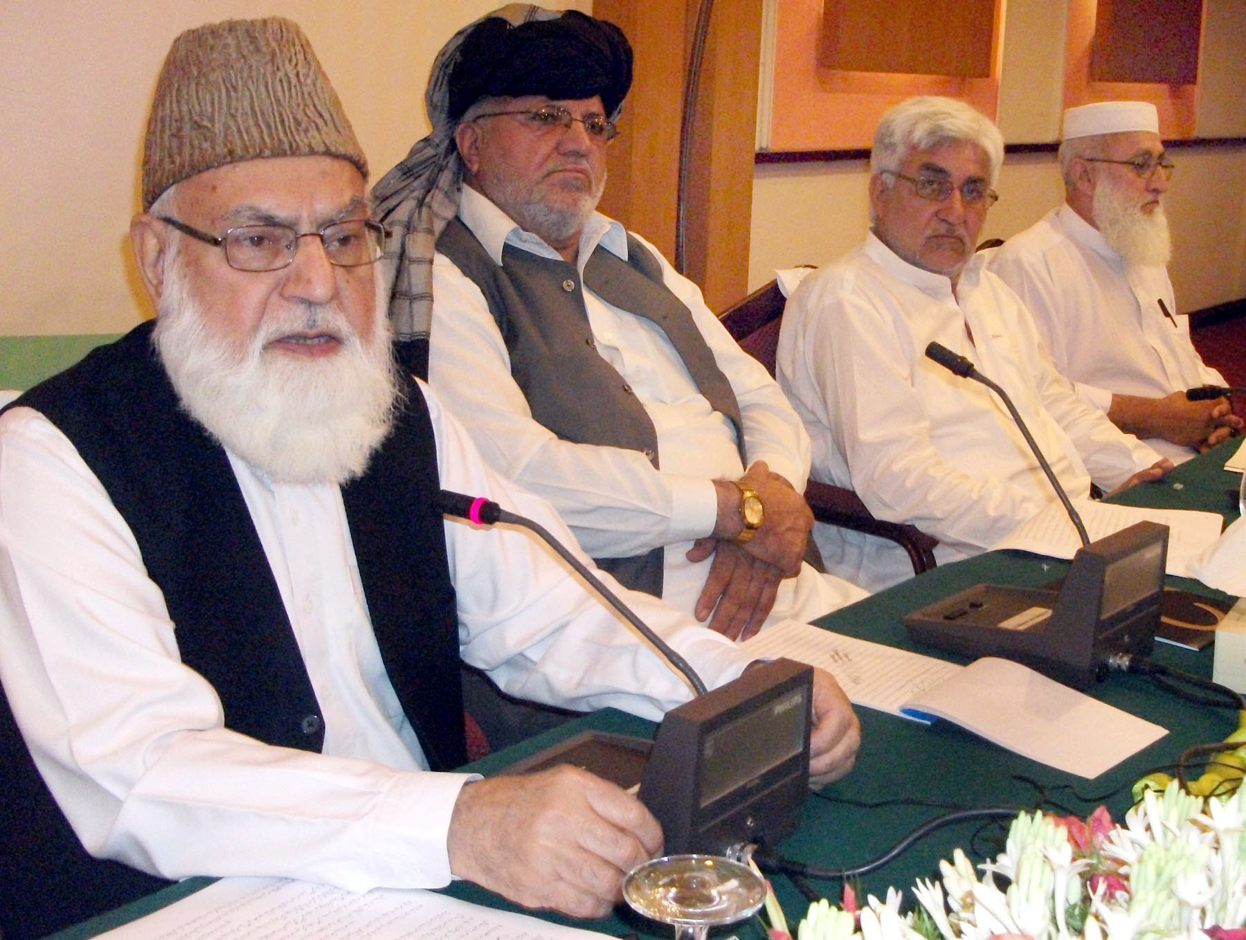 the most popular chief of ji served as the party s chief for 22 years photo express sameer raziq
