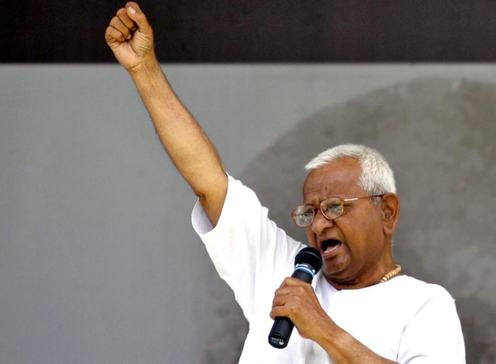 'It's high time that we teach Pakistan a good lesson,' says Hazare. PHOTO: REUTERS / FILE