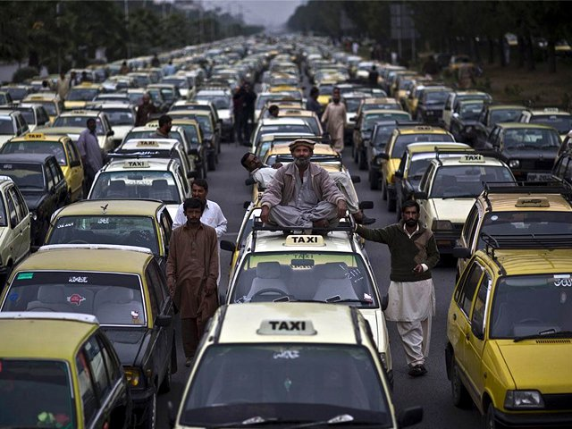 instead of opposing uber and careem taxi and rickshaw services need to shift up a gear