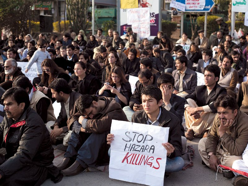 solidarity with hazaras outrage over govt s cold attitude