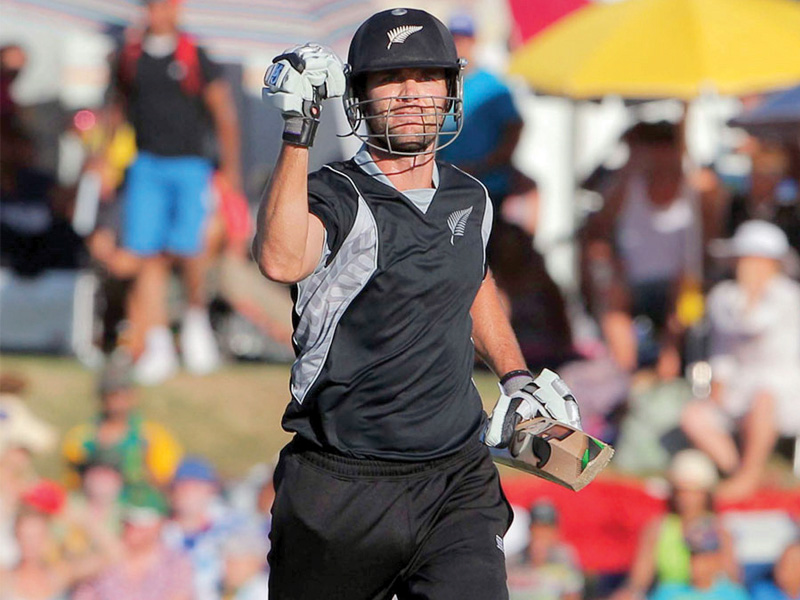 franklin was instrumental in nz s thrilling one wicket win over south africa in the first odi photo afp