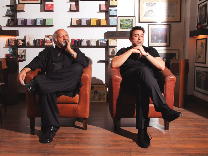 Kaleem and Shaan have been in the film industry for several years and have a good bond. PHOTO: FARHAN LASHARI