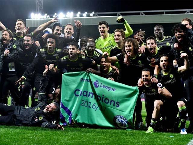 Michy Batshuayi's Late Winner Helps Chelsea Secure Premier League Title. PHOTO:AFP