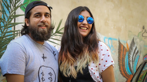 a young karachi couple is reclaiming the city with art and they re unstoppable