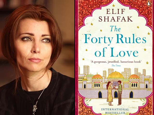 i fell in love with elif shafak s the forty rules of love the moment i saw it