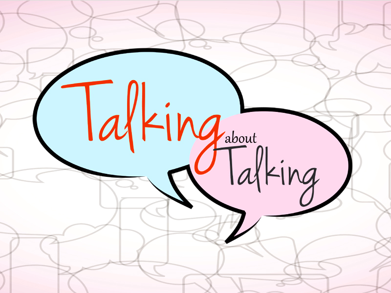parenting talking about talking